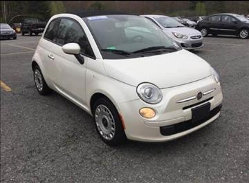 2012 FIAT 500c for sale at Greeley's Garage in Auburn ME