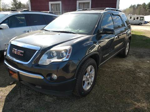 used gmc acadia for sale in maine. Black Bedroom Furniture Sets. Home Design Ideas