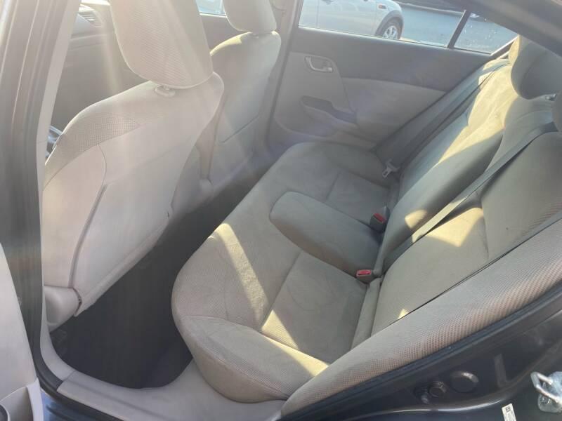 2012 Honda Civic LX 4dr Sedan 5A - South Darthmouth MA