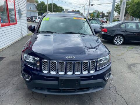 2016 Jeep Compass for sale at Better Auto in South Darthmouth MA