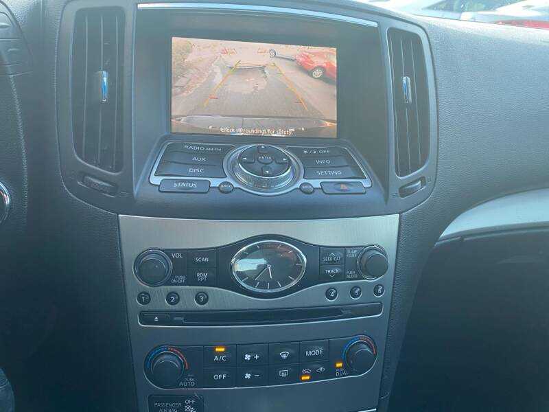 2011 Infiniti G37 Sedan  - South Darthmouth MA
