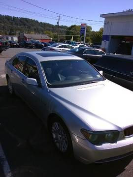 2002 BMW 7 Series for sale in Laurys Station, PA
