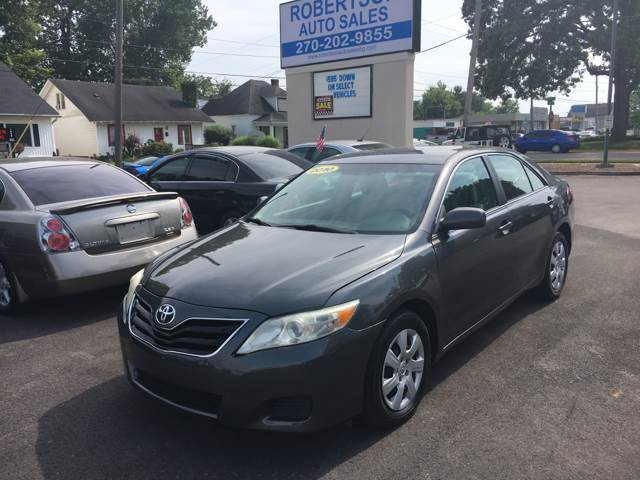 2010 Toyota Camry For Sale >> 2010 Toyota Camry In Bowling Green Ky Robertson Auto Sales