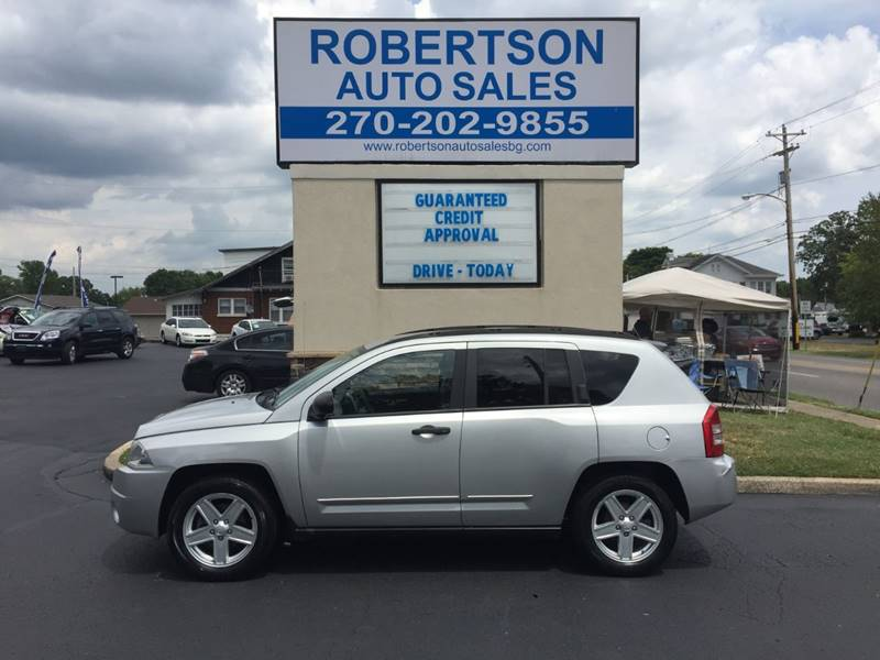 2008 Jeep Compass For Sale At ROBERTSON AUTO SALES In Bowling Green KY