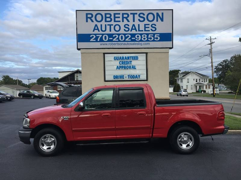 2001 ford f 150 xlt in bowling green ky robertson auto sales. Black Bedroom Furniture Sets. Home Design Ideas