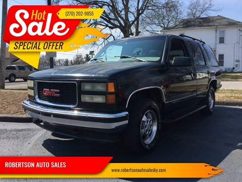 1996 GMC Yukon for sale in Bowling Green, KY