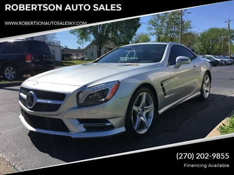Car Lots Bowling Green Ky >> 2013 Mercedes Benz Sl Class For Sale In Bowling Green Ky
