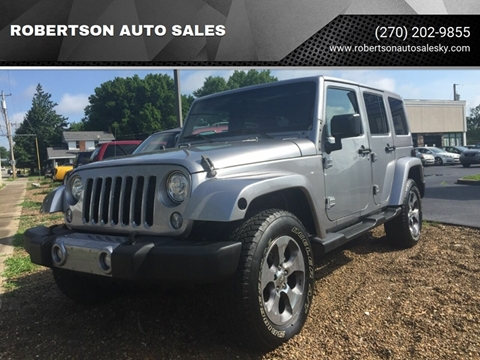 2017 Jeep Wrangler Unlimited for sale in Bowling Green, KY