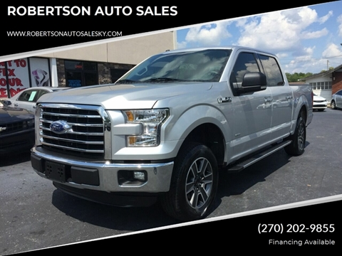 Used Cars Bowling Green Ky >> 2016 Ford F 150 For Sale In Bowling Green Ky