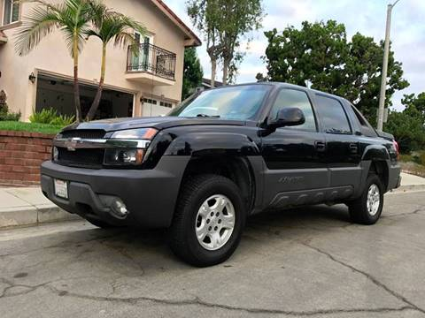 2003 Chevrolet Avalanche for sale at Quality Car Sales in Whittier CA