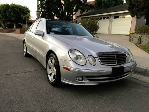 2005 Mercedes-Benz E-Class for sale at Quality Car Sales in Whittier CA