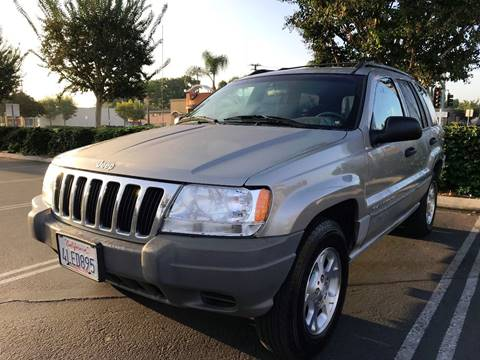 2000 Jeep Grand Cherokee for sale at Quality Car Sales in Whittier CA