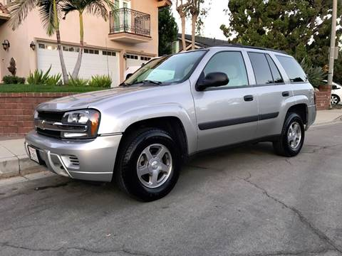 2005 Chevrolet TrailBlazer for sale at Quality Car Sales in Whittier CA