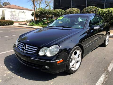 2004 Mercedes-Benz CLK for sale at Quality Car Sales in Whittier CA