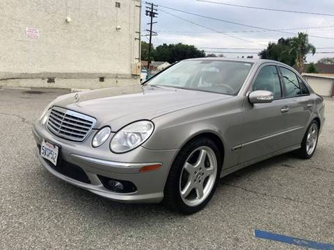 2006 Mercedes-Benz E-Class for sale at Quality Car Sales in Whittier CA