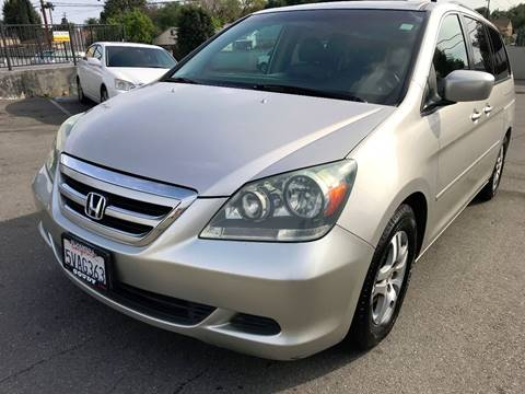2006 Honda Odyssey for sale at Quality Car Sales in Whittier CA