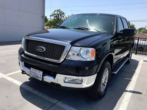2005 Ford F-150 for sale at Quality Car Sales in Whittier CA
