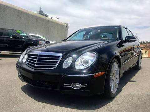 2008 Mercedes-Benz E-Class for sale at Quality Car Sales in Whittier CA