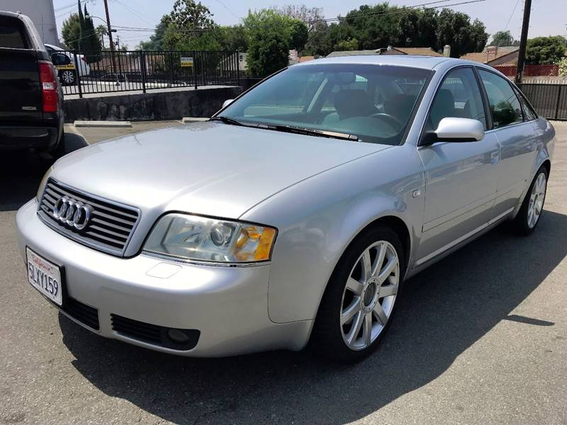 2004 Audi A6 for sale at Quality Car Sales in Whittier CA