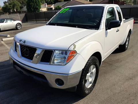 2007 Nissan Frontier for sale at Quality Car Sales in Whittier CA
