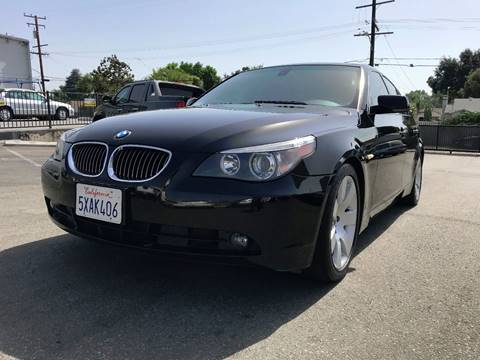 2007 BMW 5 Series for sale at Quality Car Sales in Whittier CA