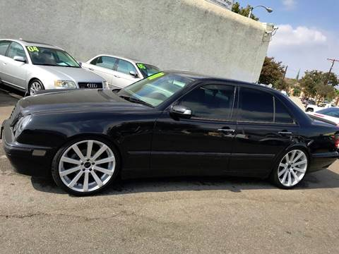 2001 Mercedes-Benz E-Class for sale at Quality Car Sales in Whittier CA