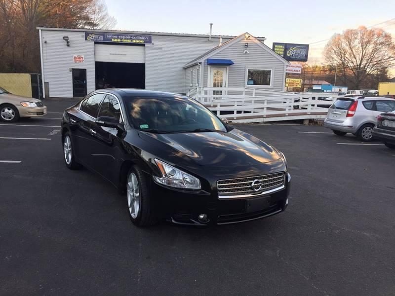 2010 Nissan Maxima For Sale >> 2010 Nissan Maxima 3 5 Sv In Brockton Ma Nation Wide Auto Center