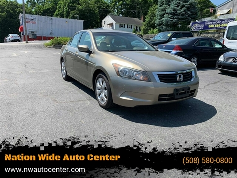 2009 Honda Accord for sale in Brockton, MA
