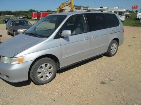 2003 Honda Odyssey for sale at SWENSON MOTORS in Gaylord MN