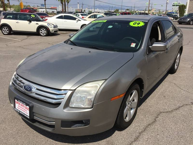 2009 Ford Fusion for sale at Super Auto Sales in Las Vegas NV