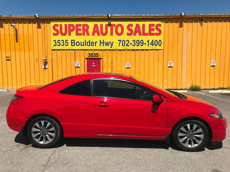 2009 Honda Civic for sale at Super Auto Sales in Las Vegas NV