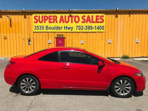 2009 Honda Civic for sale at Super Auto Sales in Las Vegas NV