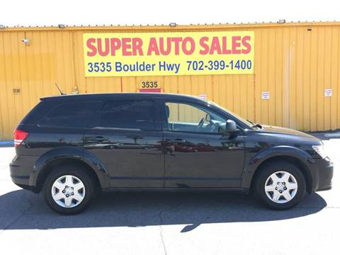 2012 Dodge Journey for sale at Super Auto Sales in Las Vegas NV