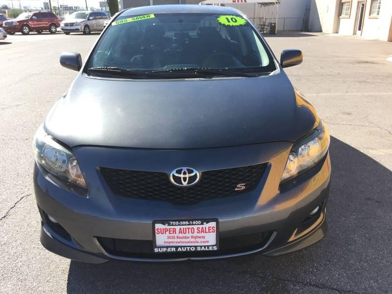 2010 Toyota Corolla for sale at Super Auto Sales in Las Vegas NV