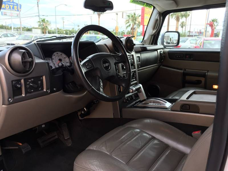 2004 HUMMER H2 for sale at Super Auto Sales in Las Vegas NV