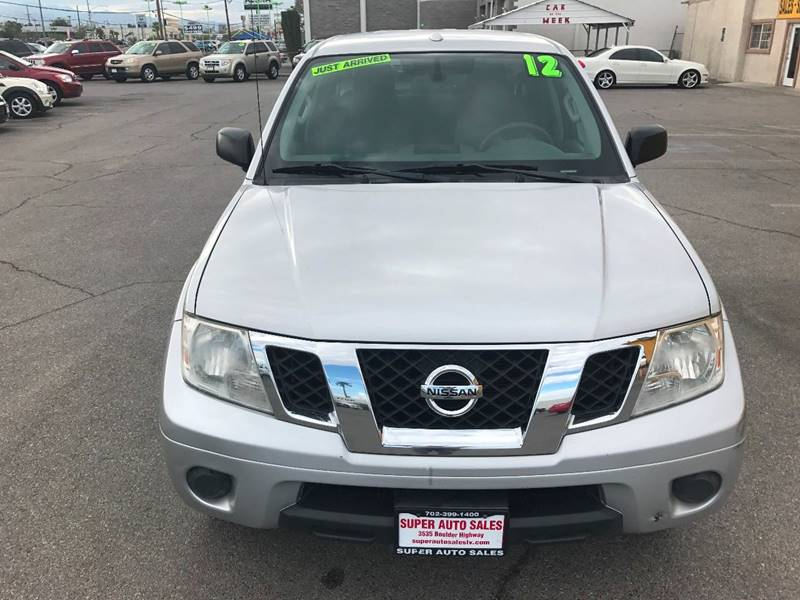2012 Nissan Frontier for sale at Super Auto Sales in Las Vegas NV