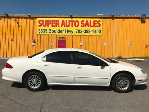 2004 Chrysler Concorde for sale at Super Auto Sales in Las Vegas NV