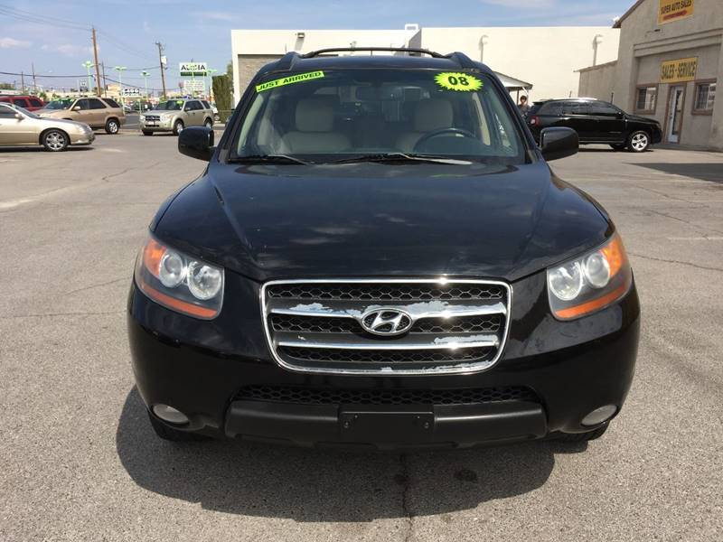 2008 Hyundai Santa Fe for sale at Super Auto Sales in Las Vegas NV