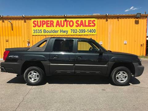 2004 Chevrolet Avalanche for sale at Super Auto Sales in Las Vegas NV