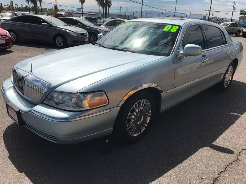 2008 Lincoln Town Car for sale at Super Auto Sales in Las Vegas NV