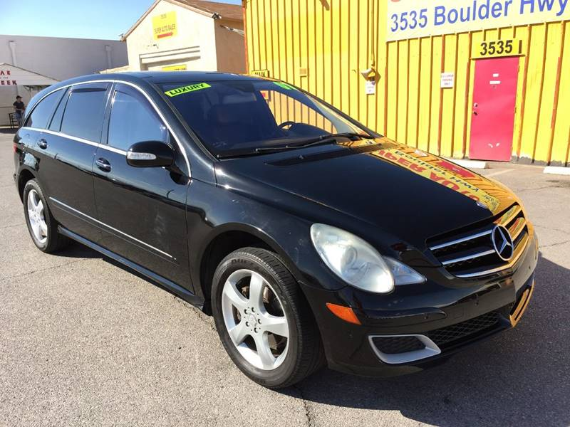 2007 Mercedes-Benz R-Class for sale at Super Auto Sales in Las Vegas NV
