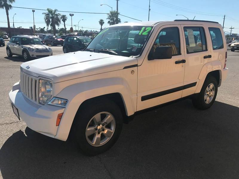 2012 Jeep Liberty for sale at Super Auto Sales in Las Vegas NV