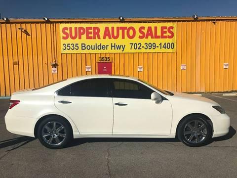 2007 Lexus ES 350 for sale at Super Auto Sales in Las Vegas NV