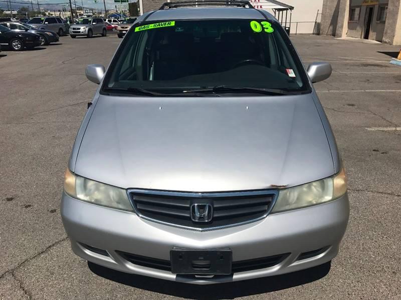 2003 Honda Odyssey for sale at Super Auto Sales in Las Vegas NV
