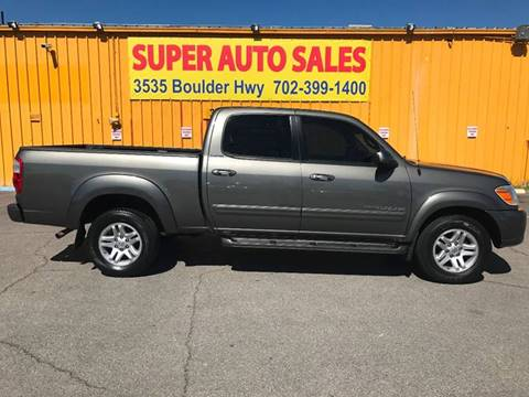 2006 Toyota Tundra for sale at Super Auto Sales in Las Vegas NV
