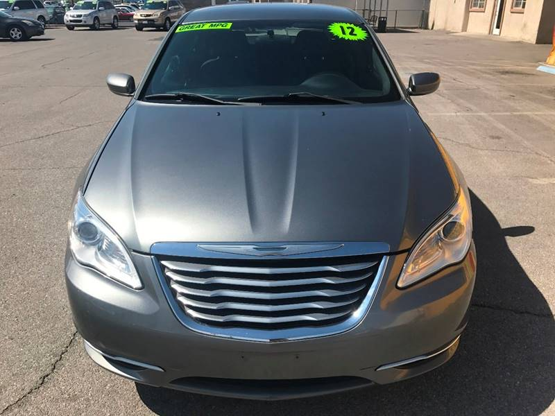 2012 Chrysler 200 for sale at Super Auto Sales in Las Vegas NV