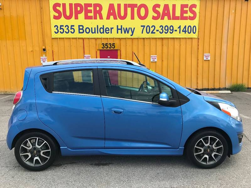 2014 Chevrolet Spark for sale at Super Auto Sales in Las Vegas NV