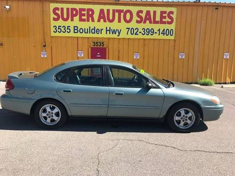 2006 Ford Taurus for sale at Super Auto Sales in Las Vegas NV