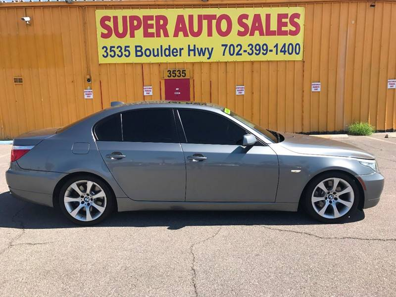 2009 BMW 5 Series for sale at Super Auto Sales in Las Vegas NV