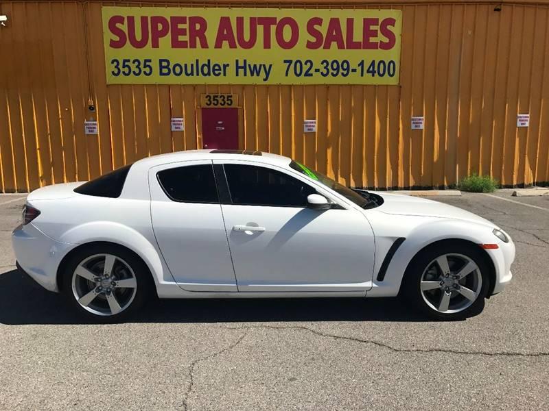 2007 Mazda RX-8 for sale at Super Auto Sales in Las Vegas NV
